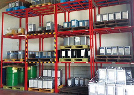 Compact warehouse